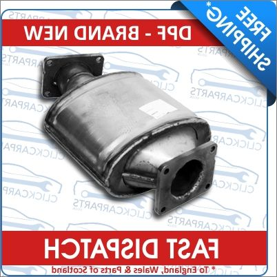 Diesel particle filter BMW F48 SAV